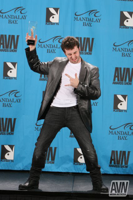 2009 James Deen AVN winner