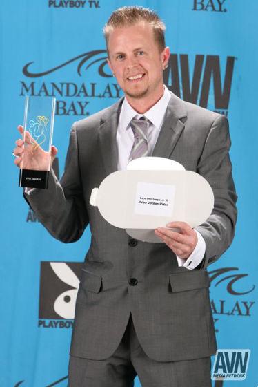 Jules Jordan 2009 AVN Award winner