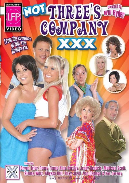 Not Three's Company XXX DVD Arrives March 3rd