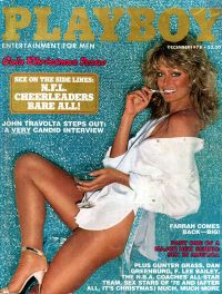 Farrah Fawcett December 1978 Playboy
