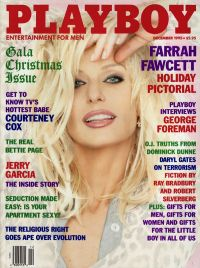 Farrah Fawcett December 1995 Playboy